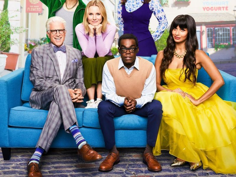 The Good Place S04 poster