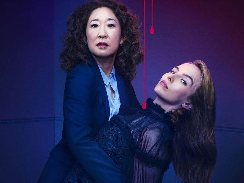 Killing Eve S02 poster